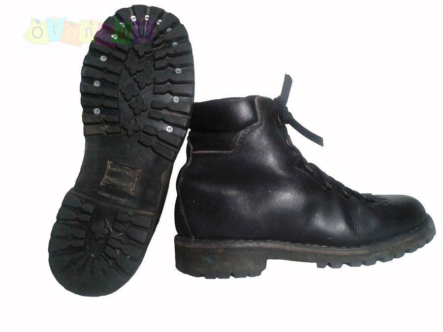 Ботинки рантовые для пешеходного туризма. Размер 36/23 см.