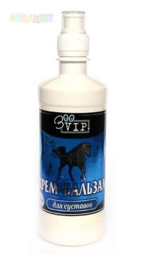 Крем-бальзам для суставов лошадей (ЗOO-VIP) -500 мл.