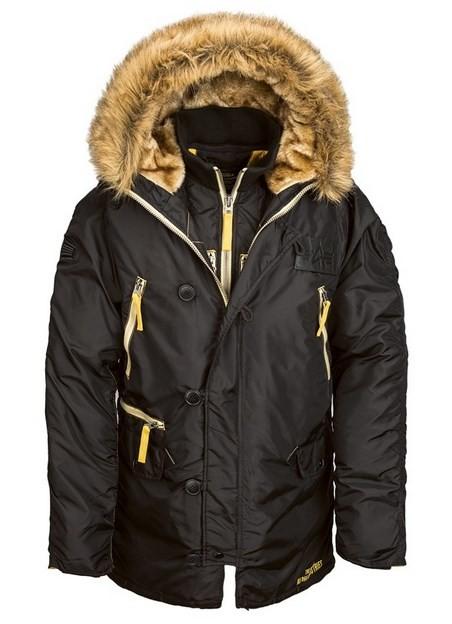 Мужская зимняя термо куртка N-3B Inclement. Оригинальная аляска