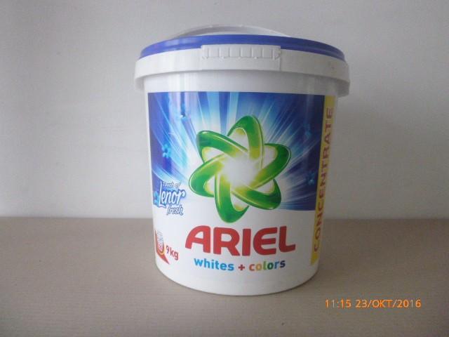 Стиральный порошок Ariel и Persil 9 кг (ведро). 120 стирок.