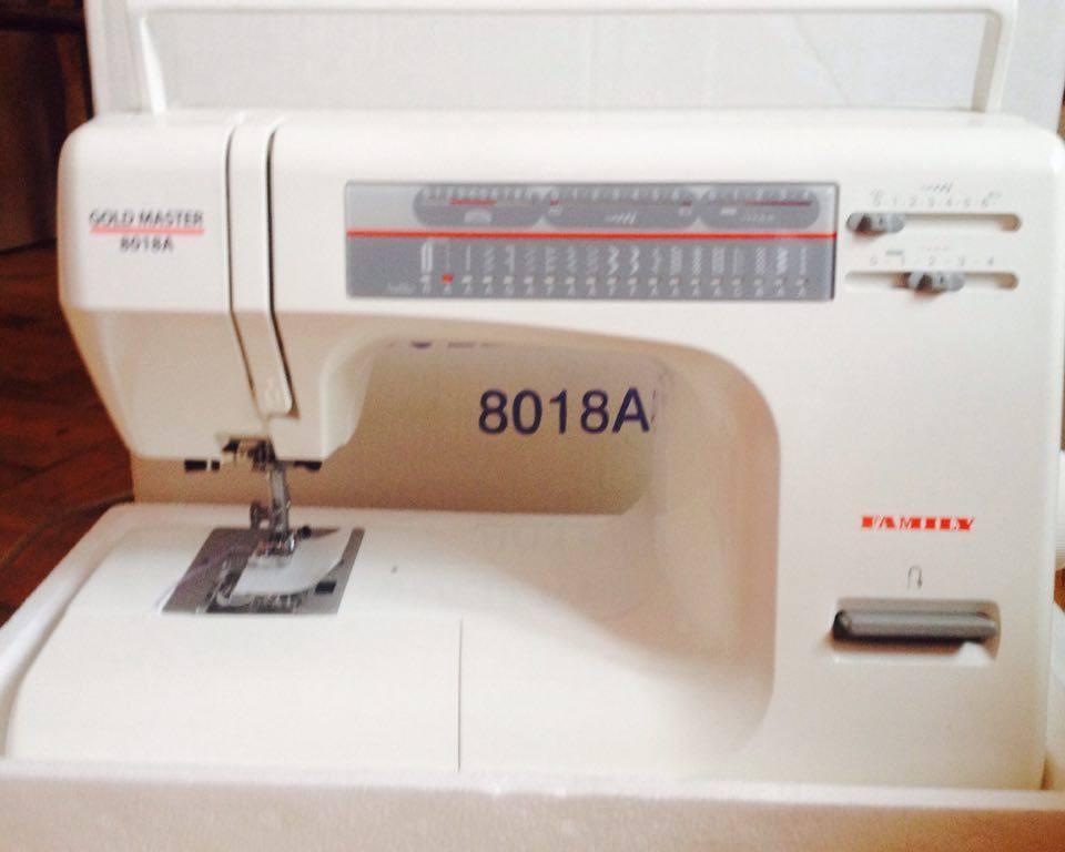 Швейная машинка Family Gold Master 8018 A