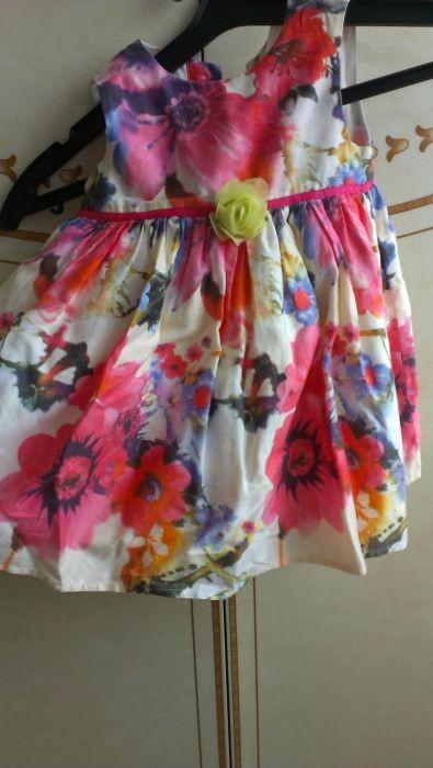Продам очень нарядное платье на девочку 9-12 месяцев