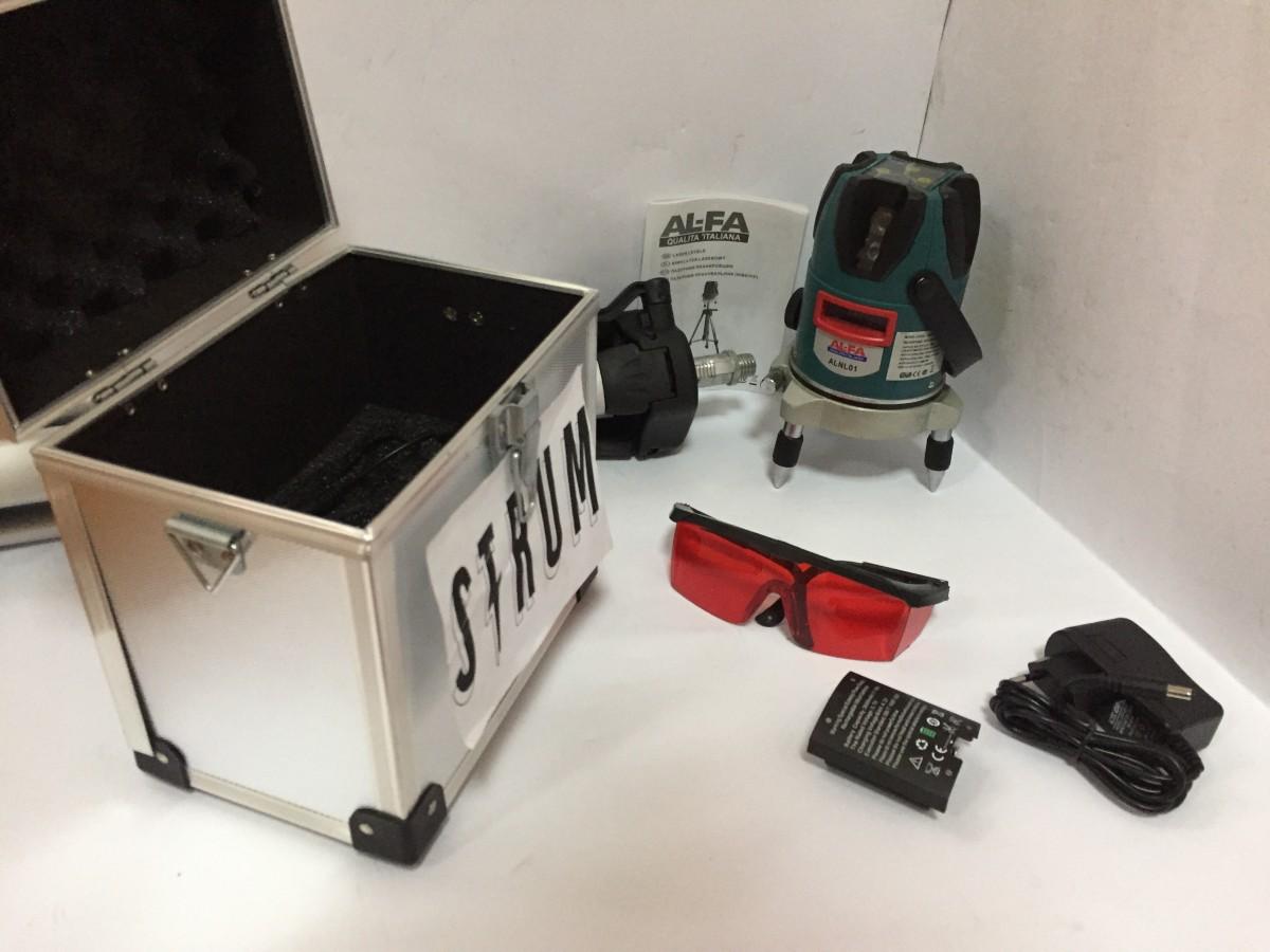 Лазерный уровень нивелир (планировщик) AL-FA ALNL01