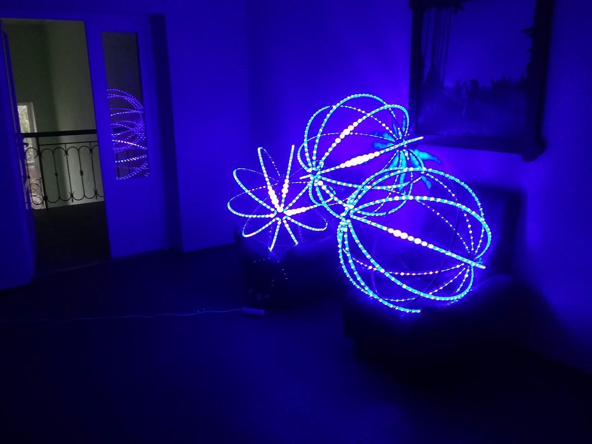 Светодиодный шар рекламный – алюминевый каркас в Черкассах