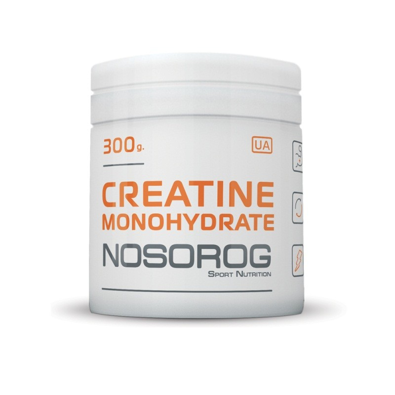 NOSOROG CREATINE MONOHYDRATE 300/600 грамм