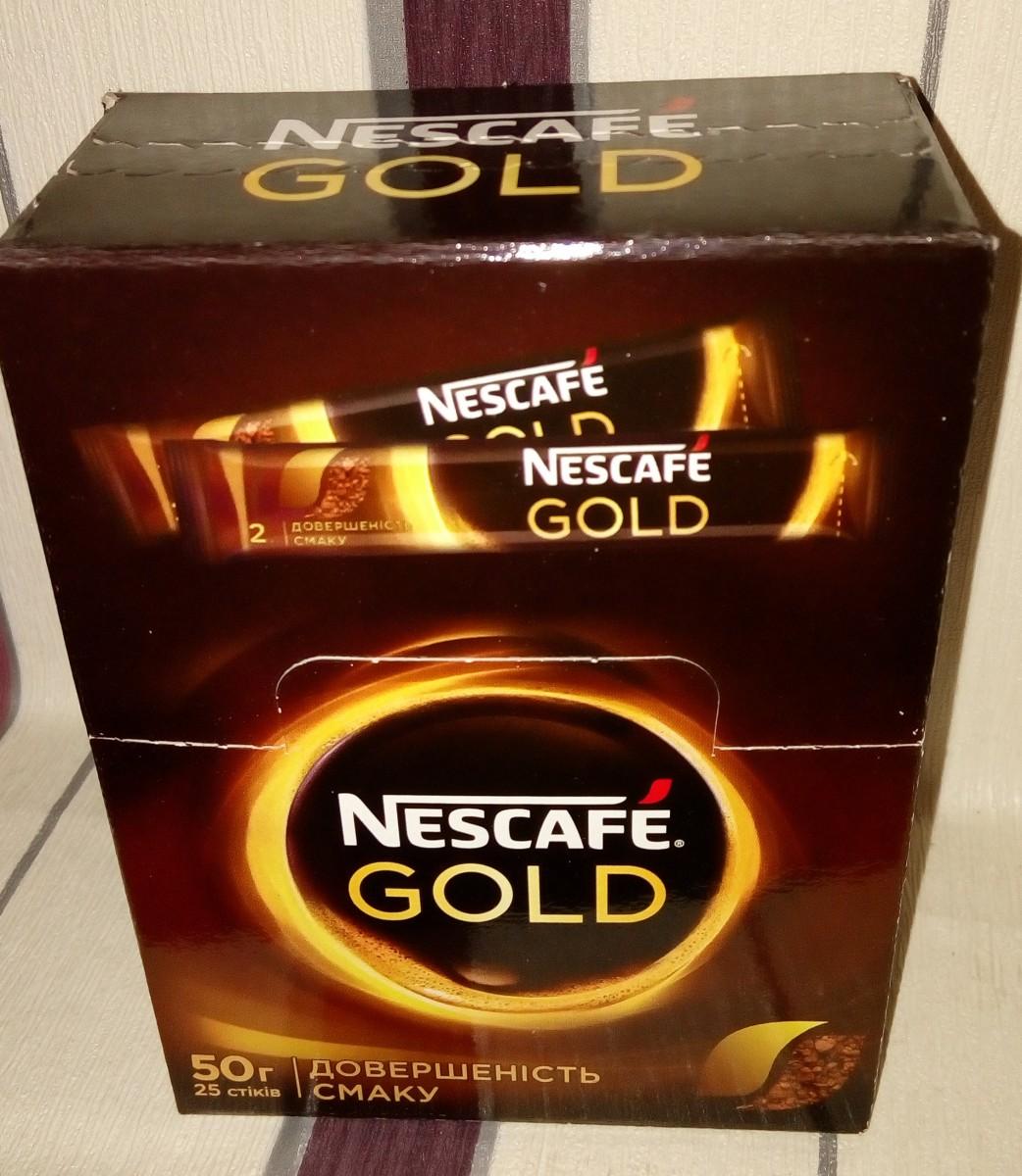 кофе Nescafe (Нескафе) gold в стиках