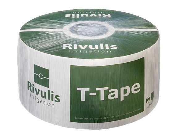 Капельная лента T-Tape 8mil-15см (2300м)