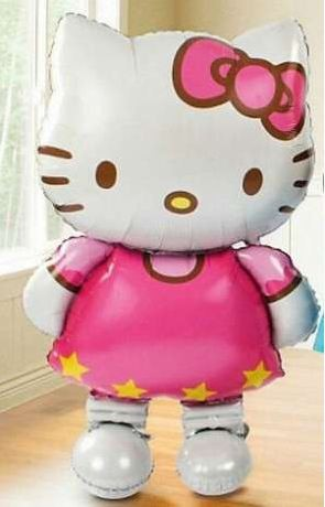 Воздушный фольгированный шар Hello Kitty - 108 см