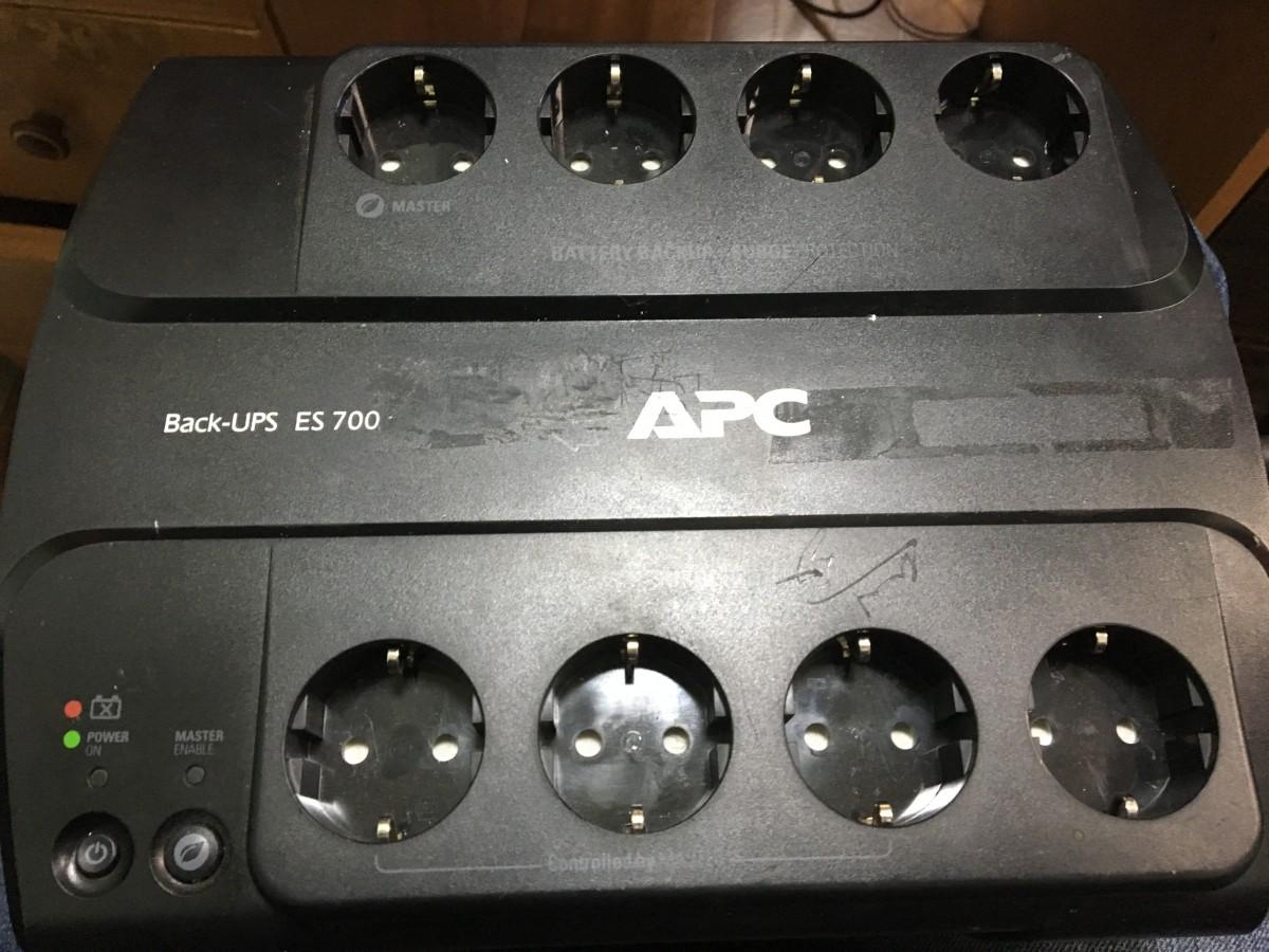 Продам UPS, APC Back-UPS ES 700VA