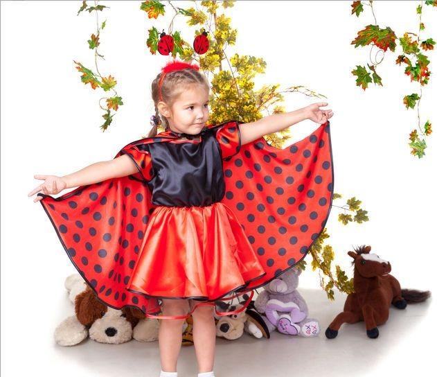 Детский карнавальний костюм Божья Коровка. Новогодний и не только.