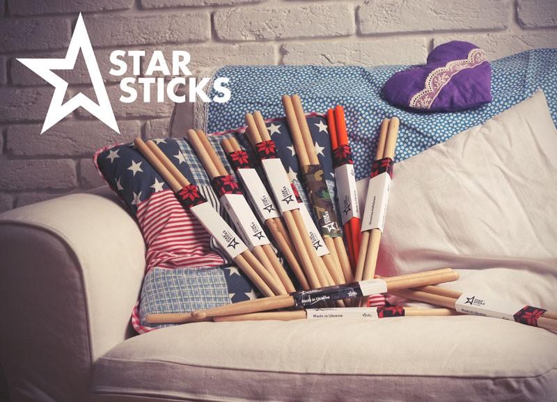 Барабанные палочки Star Sticks - Ukrainian HoRnbeam