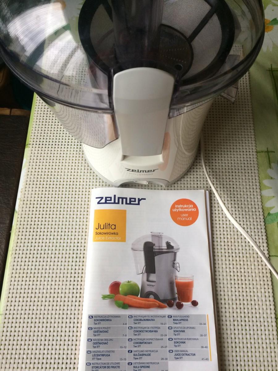 Продается электросоковыжималка ZELMER JULITA Мощность- 800W, состояние – отличное
