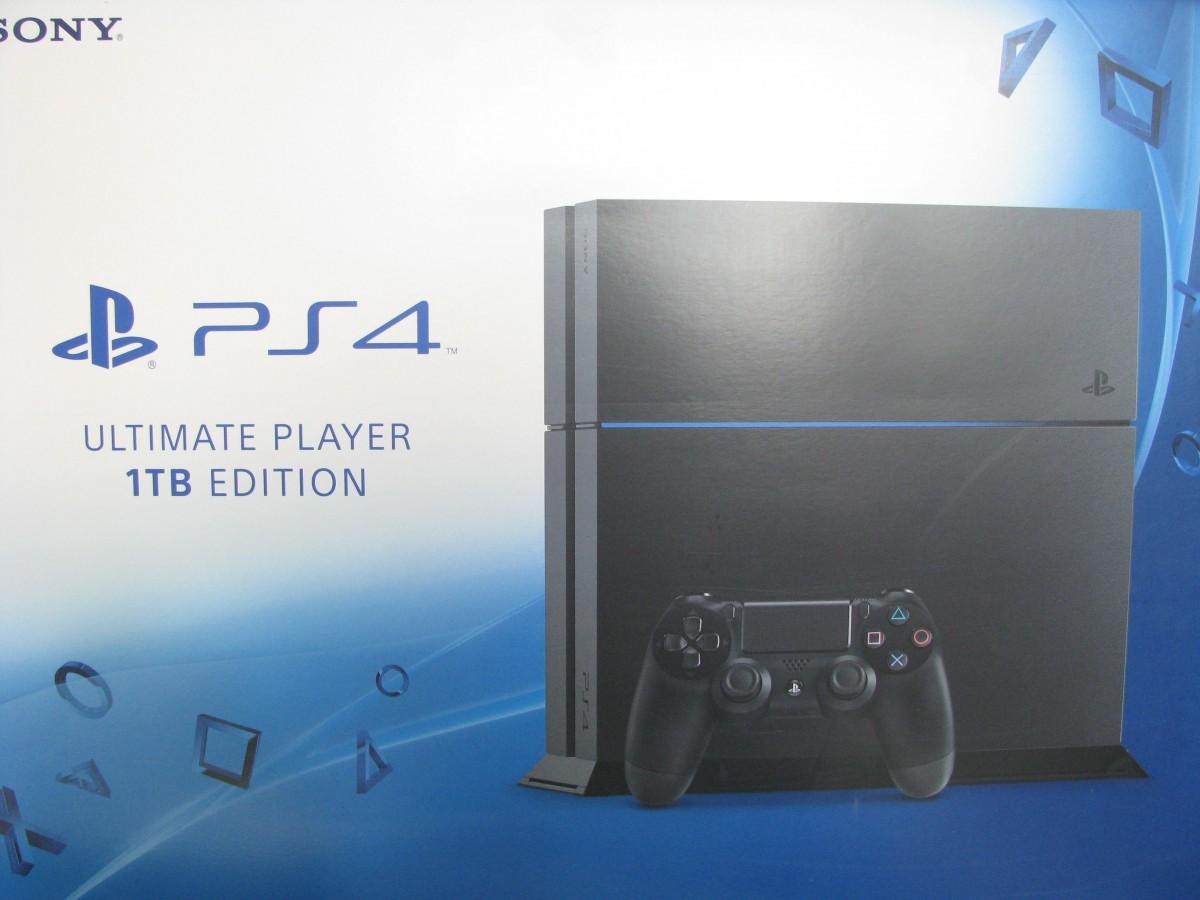 SONY PS 4  1 Тб  игровая приставка