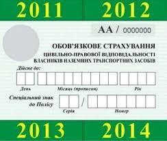 Автогражданка, ОСАГО, Автоцивілка, страховка Киев