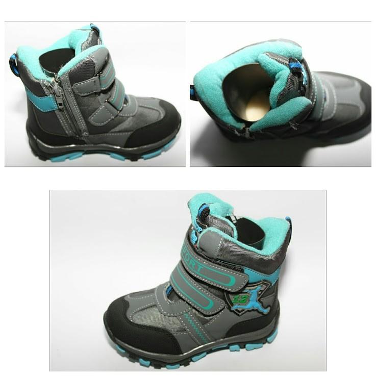 Зимние ботинки для мальчика YTOP 27-32р.