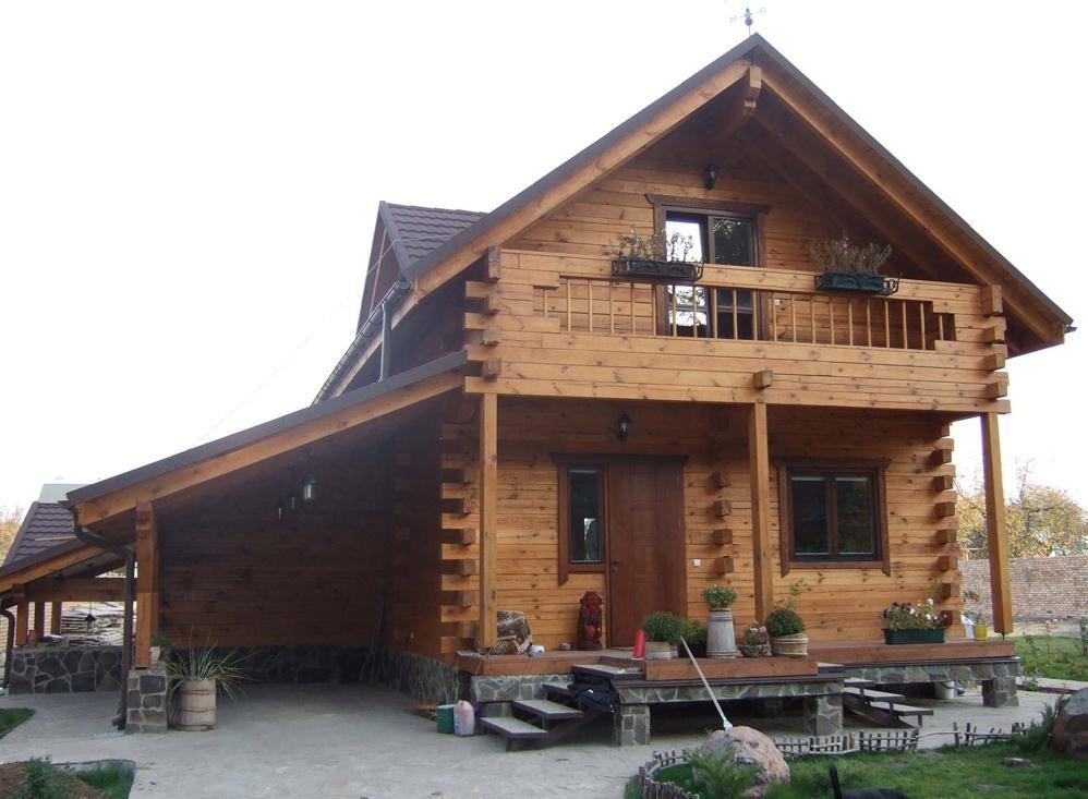 Строительство деревянных домов из профилированого масивного бруса