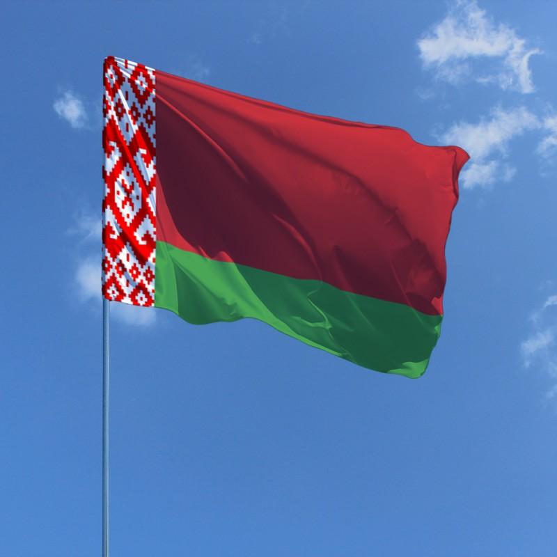 Флаг Белоруссии / белорусский 150*90 см, интернет-магазин флагов стран Европы и мира, организаций, штатов