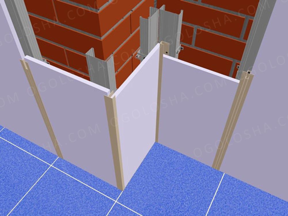 Негорючие стеновые панели для внутренней отделки: особенност.