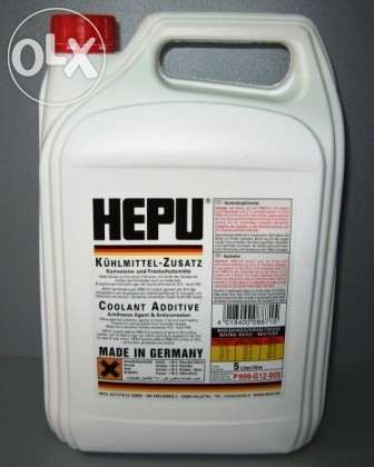 Антифриз HEPU концентрат красный 5 литров. P999-G12-005