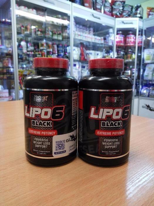 Жиросжигатель Nutrex Research Lipo 6 Black Extreme Protency 120 капсул