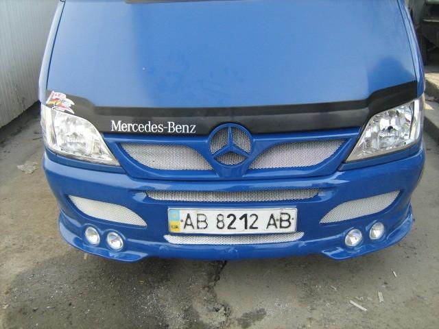 Бампер передний тюнинг на Mercedes Sprinter CDI