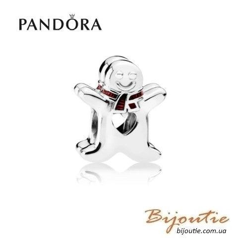 Оригинал шарм пряник имбирный человечек Pandora ― 792002EN07