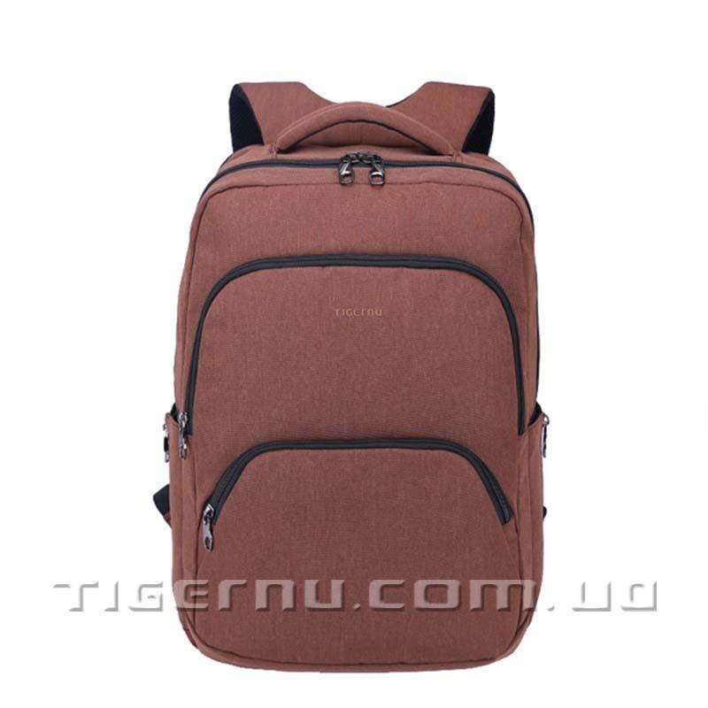 Рюкзак городской Tigernu T-B3189 коричневый кофейный