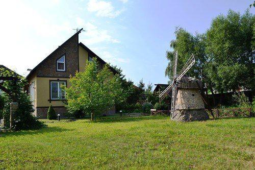 Дом возле Днепра и КГ Золоче с Бассейном, озером, фонтаном