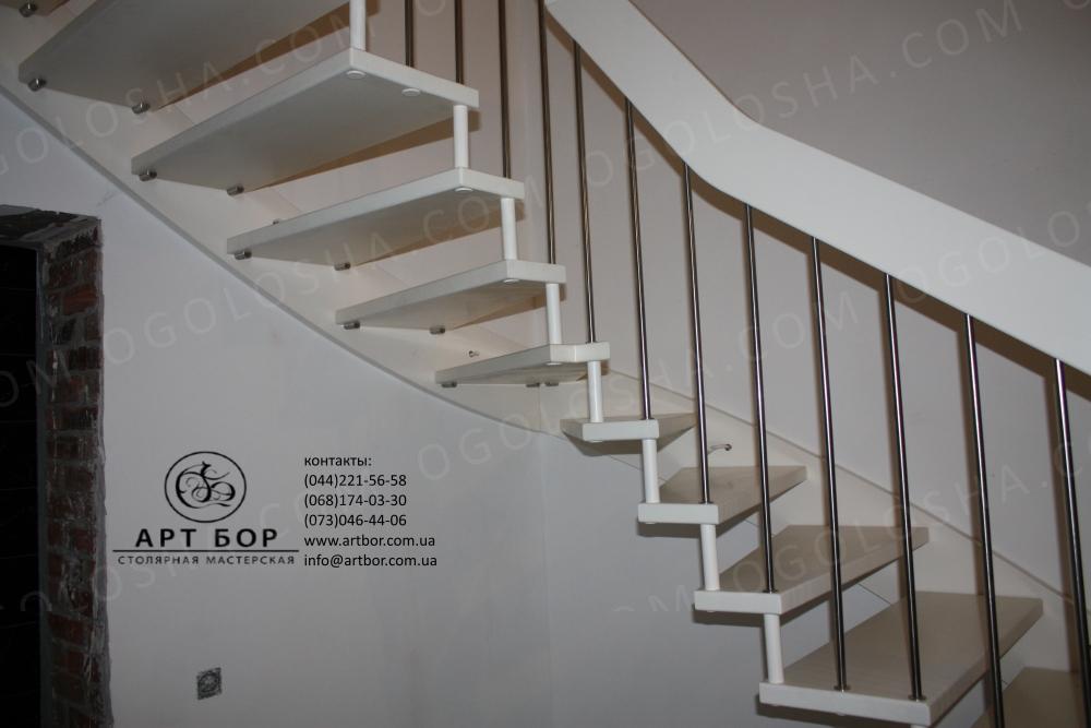 Лестницы открытого и закрытого типа