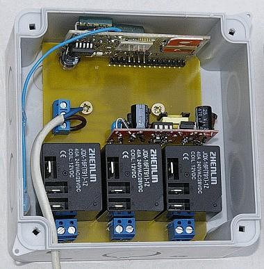GSM ребутер и термометр, 3 реле на три роутера или модема.