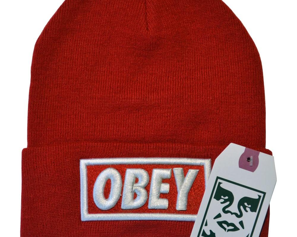 Шапка зимняя OBEY, шапка