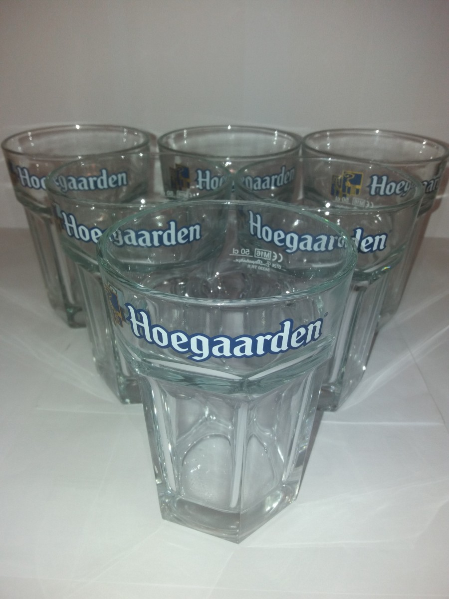 Брендовые ПИВНЫЕ БОКАЛЫ Hoegaarden(Хугарден)
