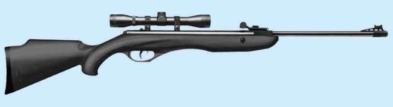 Пневматическая винтовка Crosman Phantom с оптическим прицелом