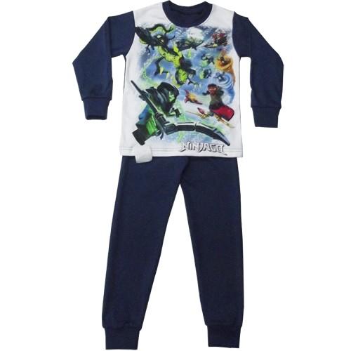 детская пижама ниндзяго интерлок