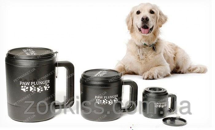 Paw Plunger ЛАПОМОЙКА для собак от 30кг и выше (черная, розовая)