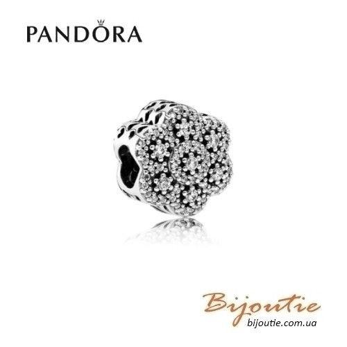 Шарм PANDORA ледяные цветы ― 791998CZ