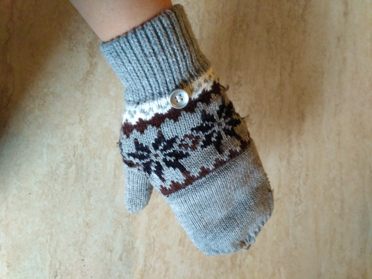 Перчатки-варежки