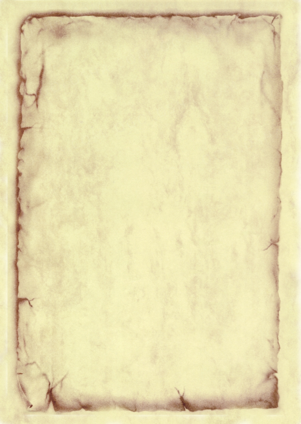 Лист меню А4