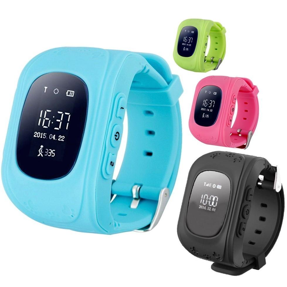 Умные детские часы Smart Baby Watch Q50 c GPS трекером.