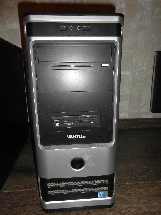 ПК на Intel Core2Quad q8300, 8Gb, видео EN240GT 512 Mb, винт 500 Gb