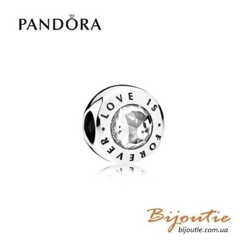 PANDORA шарм ― ЛЮБОВЬ НАВСЕГДА 791813CZ