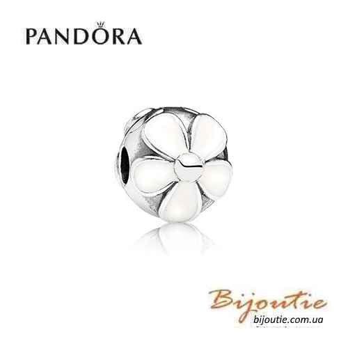 PANDORA шарм-клипса МАРГАРИТКИ №791259EN12  серебро 925 Пандора оригинал