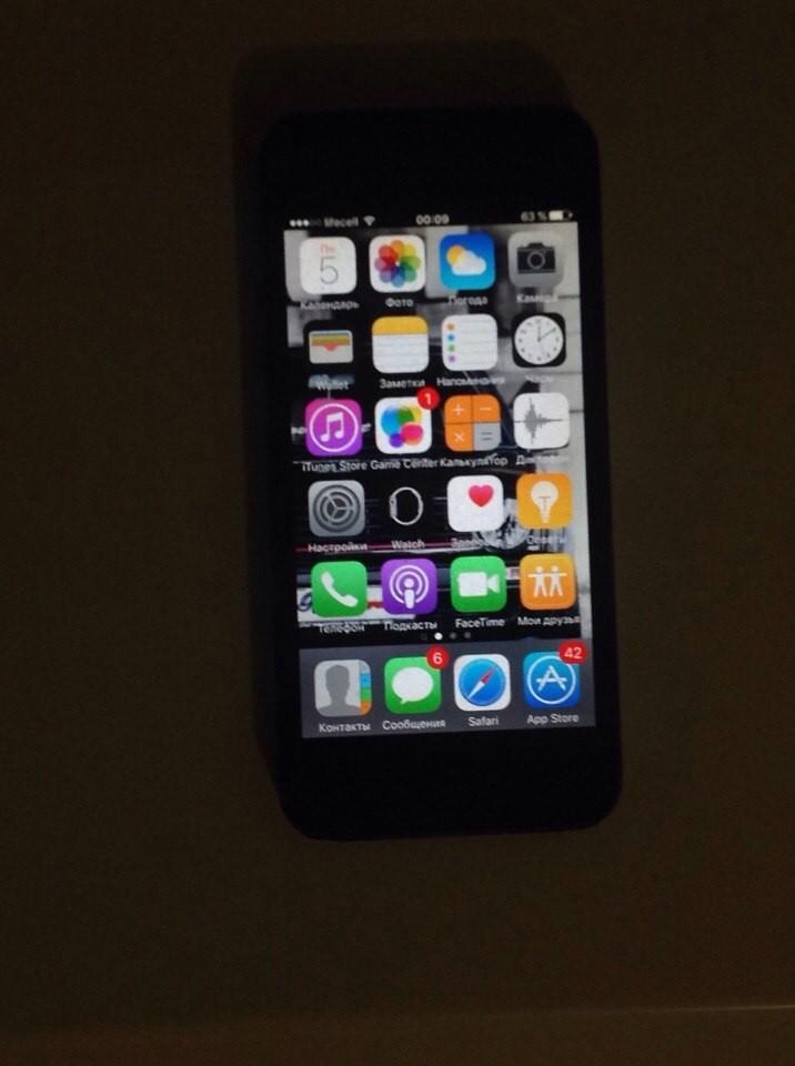 Продам IPhone 5, 16 Гб памяти, Срочно!!!