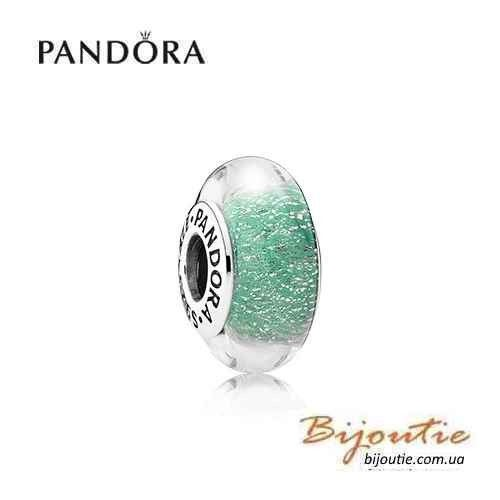Pandora шарм мурано РУСАЛКА АРИЭЛЬ 791641 серебро 925 Пандора оригинал