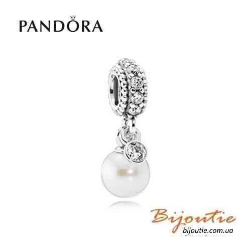 Pandora Шарм-подвеска ВЕЧНАЯ КРАСОТА 791871Р серебро 925 кубический цирконий Пандора оригинал