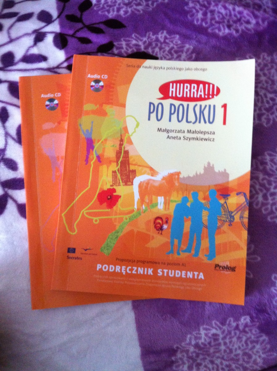 Книга + тетрадь Hurra!! po polsku 1,2,3