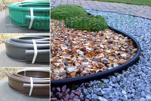 Садові бордюри пластикові