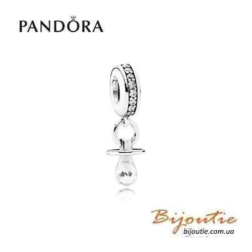 PANDORA Шарм в форме СОСКА ― Бусина 791890CZ оригинал Пандора