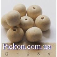 Деревянные бусины для слингобус  диаметр-16 мм