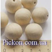 Деревянные бусины для слингобус  диаметр-25 мм